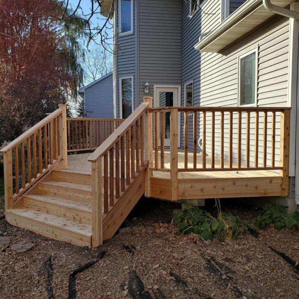 Eden Prairie Deck After